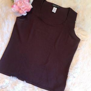 Jones New York Sleeveless Sweater Like New - M